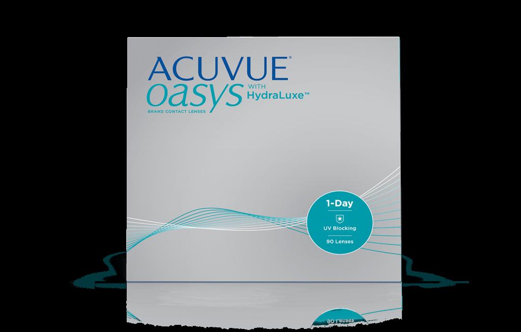 ACUVUE® OASYS 1-Day з технологією зволоження HydraLuxe®