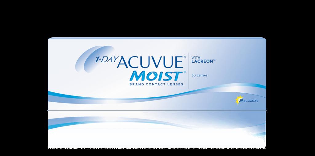 ОДНОРАЗОВІ контактні лінзи 1-DAY ACUVUE® MOIST